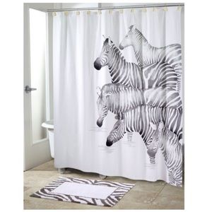 Other - Gorgeous Zebra Shower Curtain